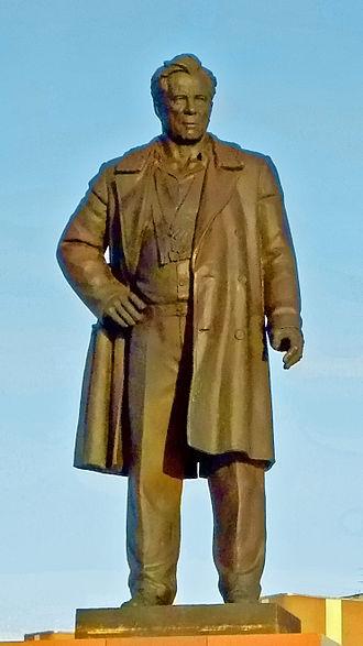 Viktor Astafyev - Monument to Astafyev in Krasnoyarsk
