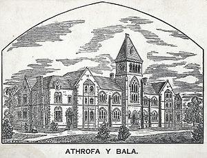 Bala-Bangor Theological Seminary - Image: Athrofa y Bala