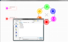 Screenshot di ATOMIC Authoring Tool