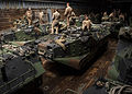 Attack of the Tracks, 2nd Assault Amphibian Battalion conducts ship operation 140910-M-TV331-079.jpg