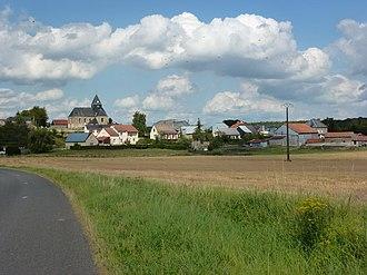Auboncourt-Vauzelles - View of the Village