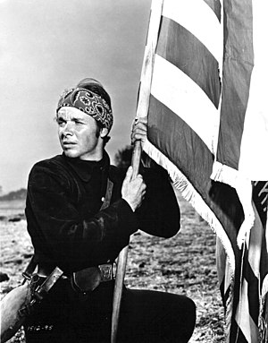 Audie Murphy - Murphy in The Red Badge of Courage (1951)