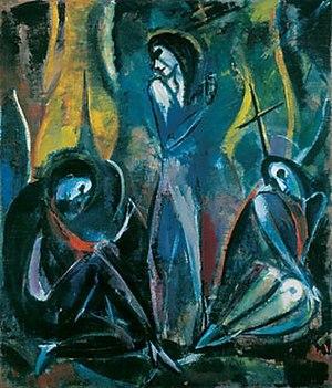Hermann Stenner - Image: Auferstehung