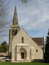 Auger-Saint-Vincent (60), église Saint-Caprais, vue depuis l'ouest 2.JPG