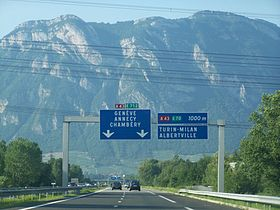 Image illustrative de l'article Autoroute A41 (France)