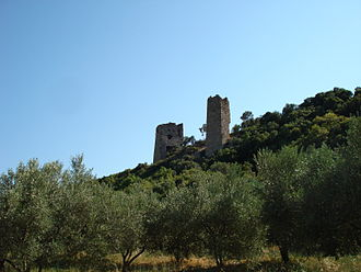 Alexandroupoli - Ruins of Avandas castle outside the city.
