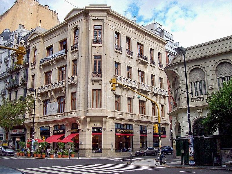 File:Avenida de mayo café Iberia.jpg