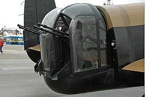 Nash & Thompson - The FN-20 4-gun tail turret on an Avro Lancaster