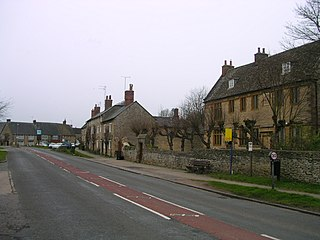 Aynho Human settlement in England
