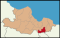 Ayvacık District Location in Samsun Province.png