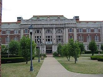 West Virginia Northern Community College - West Virginia Northern Community College main campus in downtown Wheeling