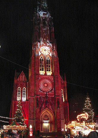 Bremerhaven - Bürgermeister-Smidt-Gedächtniskirche