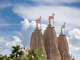 BAPS Shri Swaminarayan Mandir Chino Hills - Image: BAPS Mandir LA 2