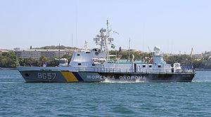 Stenka-class patrol boat - Ukrainian Sea Guard BG57 Mykolaiv
