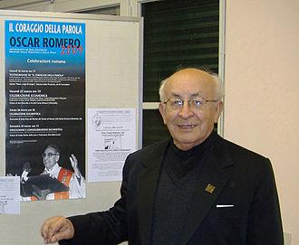 Tomás Balduino - Image: BISHOP tomas balduino in rome march 2009