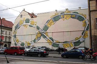 BLU、ガザ地区、プラハの壁画