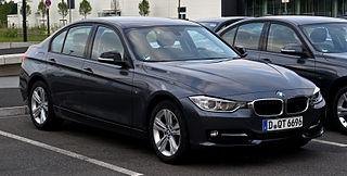 BMW 3 Series (F30) Car model