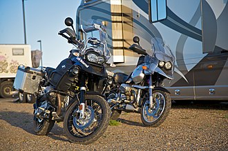BMW GS - BMW R1200GSA and R1150GS at Overland Expo 2009