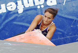 Anna Stöhr Austrian rock climber