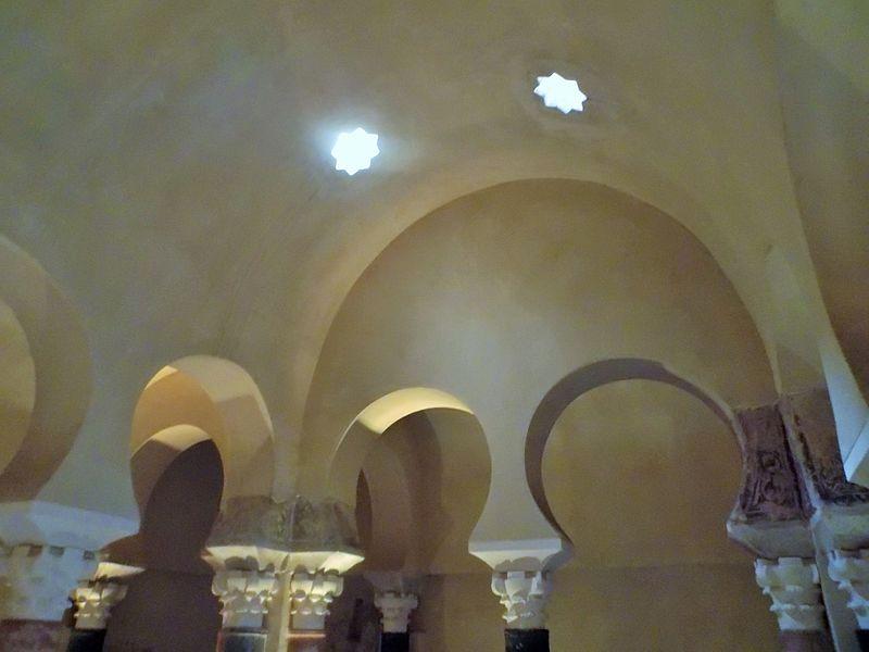 File ba os califales de c rdoba techo y huecos de - Techos para banos ...