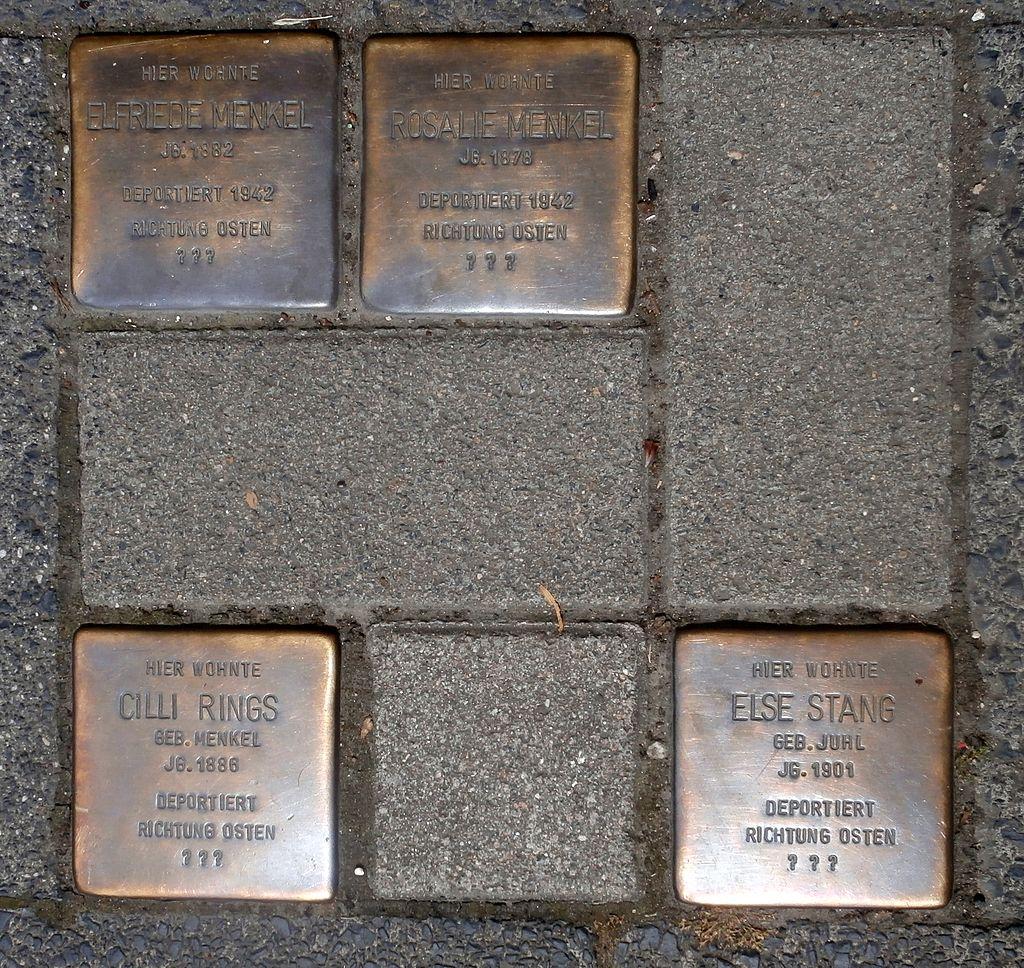 Bad Honnef Stolpersteine Bergstraße 5.JPG
