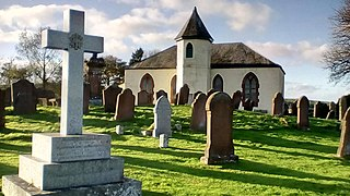 Balmaghie village in Dumfries and Galloway, Scotland, UK