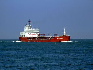 Baltic Claire IMO 9014511 approaching Port of Rotterdam, Holland 19-Apr-2007.jpg