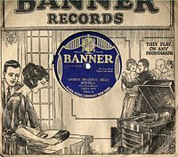 Banner Record Sleeve, 1920s.