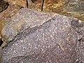 Baraboo Quartzite (upper Paleoproterozoic, ~1.7 Ga; just north of Rock Springs, Wisconsin, USA) 8 (18785780355).jpg