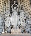 Barcelona Cathedral Interior - Sepulcre de Manuel Girona, amb grup escultòric de Manel Fuxà.jpg