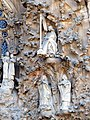 Barcelona Sagrada familia sculptures in the Nativity Facade 04.jpg