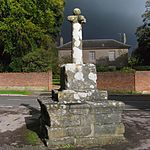 Village Cross to North West of Church of St Martin