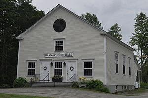 Barnard, Vermont - Town hall