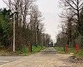 Barrière d'accès au fort de Sermenaz, route du Fort (Neyron).jpg