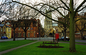 King's Ely - Image: Barton Square