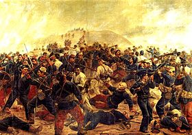 Battle of Arica (1880), Juan Lepiani.jpg