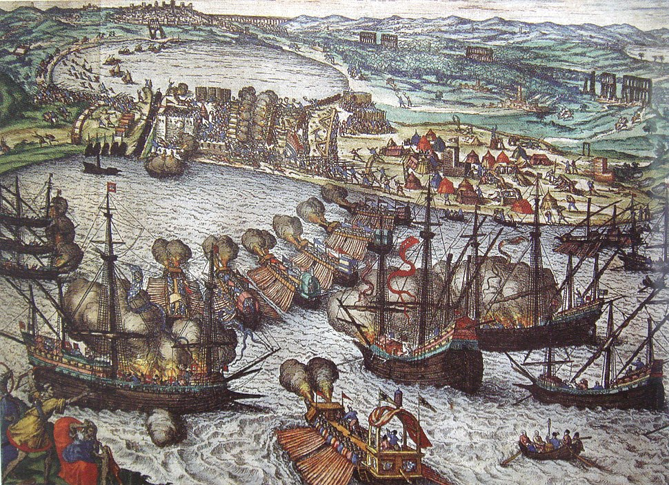 Battle of Tunis 1535 Attack on Goletta