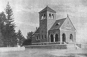 Horace Henry Baxter - H. H. Baxter Memorial Library, Rutland, Vermont.  Now the Rutland Jewish Center.