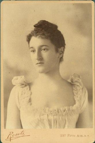 Beatrix Farrand - Image: Beatrix Jones Farrand cabinet card est 1890s 1910s