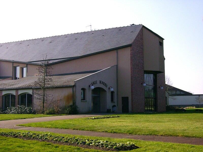 Salle de spectacles Beaulieu, à Candé, 49, France