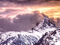 Beautiful Cloudy Sunset - Matterhorn Zermatt.jpg