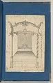 Bed, in Chippendale Drawings, Vol. I MET DP-14278-032.jpg