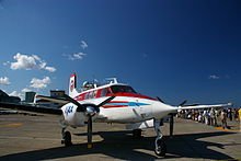 Beechcraft B65 Queen Air.JPG