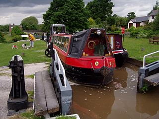 Canals in Cheshire