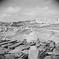 Begraafplaats op Zion's berg met het zichtop de stadsmuur van Jeruzalem. Zicht o, Bestanddeelnr 255-5157.jpg