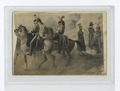 Belge (Two Military officers riding horses and three on foot.) (NYPL b14896507-88355).tiff