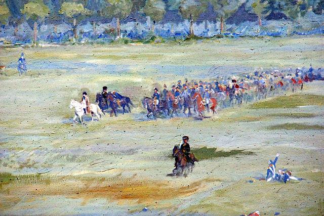Наполеон при Ватерлоо (деталь панорамы на месте битвы)