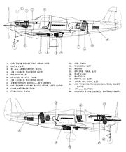 Bell P-39K-L internal