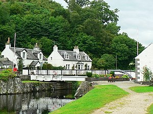 Crinan Canal - Bellanoch Bridge