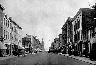 Belleville, Ontario - Front Street, 1900